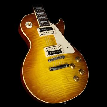 Custom Used 2016 Gibson Custom Standard Historic ContouR8 1958 Les Paul Reissue Electric Guitar Iced Tea
