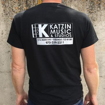 Custom Katzin Music Mens Large T-Shirt Black