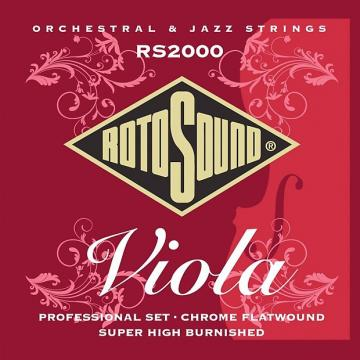 Custom Rotosound RS2000 Flatwound Professional Viola Strings