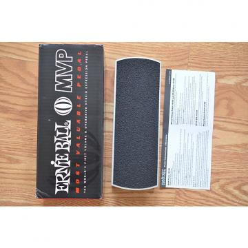 Custom Ernie Ball 6128 MVP Most Valuable Guitar Volume Pedal w/ Box & Swag Silver / Black