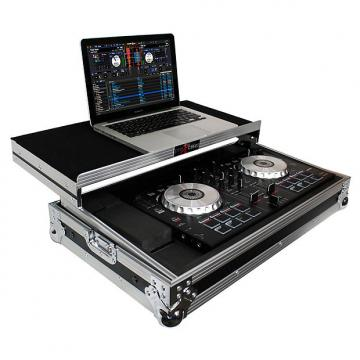 Custom ProX X-MXTSBLT Pioneer DDJ-SB2 / DDJ-RB Case with Sliding Laptop Shelf