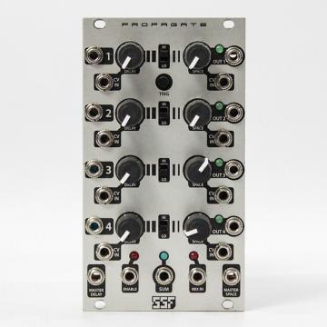 Custom SSF Propgate Quad Gate Delay Eurorack Module