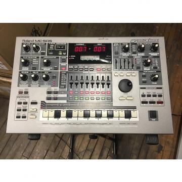 Custom Roland MC-505 GROOVEBOX music production workstation Silver
