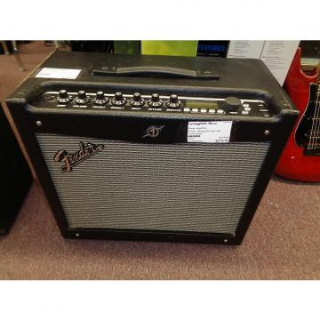 Custom used Fender Mustang III V.2 guitar combo amplifier with footswitches