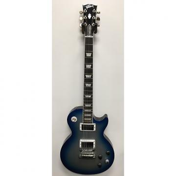 Custom Gibson Les Paul Robot Blue Burst