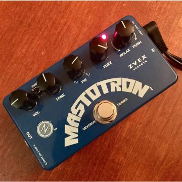 Custom ZVEX Mastotron Gated Fuzz 2017 Blue