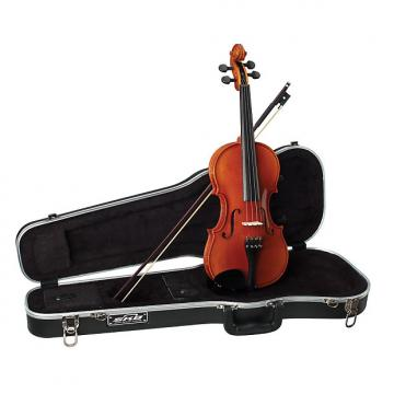 Custom Becker 1000F 4/4 Full Size Violin Outfit - Polished Gold Brown