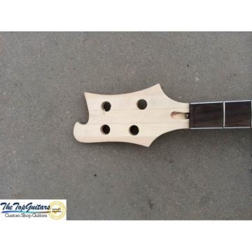 Custom Made Blue 4003 Bass Neck Through Body