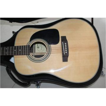 Martin 41 Inch Veneer D28 Acoustic Guitar Sitka Solid Spruce Top With Ox Bone Nut & Saddler