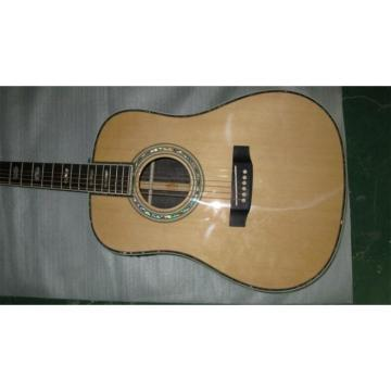 Dreadnought 41 Inch Martin D45 Electric Acoustic Guitar Fishman Pickups Sitka Spruce Top