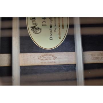 Custom Shop Dreadnought CMF Martin D45 Vintage Acoustic Guitar Sitka Solid Spruce Top With Ox Bone Nut & Saddler