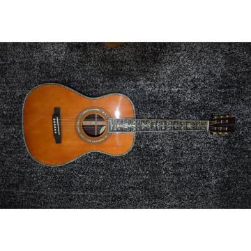 Custom Shop Martin 45 Classical Acoustic Guitar Sitka Solid Spruce Top With Ox Bone Nut