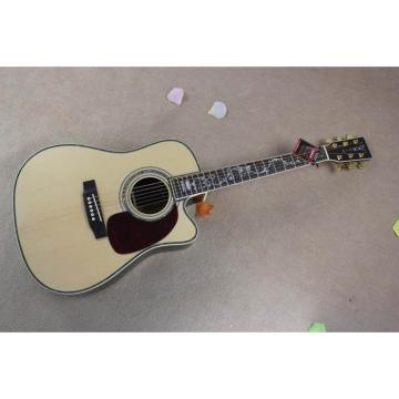 Custom Shop CMF Martin D45 Natural Acoustic Tree of Life Inlay Guitar Sitka Solid Spruce Top