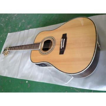Custom Shop 1833 Martin D45 Natural Acoustic Electric Guitar Sitka Solid Spruce Top With Ox Bone Nut & Saddler