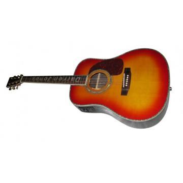 Custom Shop CMF Martin D45 Vintage Acoustic Guitar Inlayed Name on Fretboard Sitka Solid Spruce Top