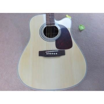 Custom Martin Natural D28 Acoustic Electric Guitar with EQ fishman Sitka Solid Spruce Top With Ox Bone Nut & Saddler