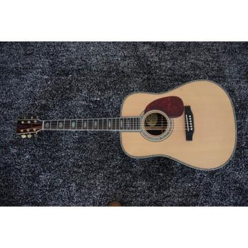 Custom Dreadnought D45S 1833 Martin Acoustic Guitar Sitka Solid Spruce Top With Ox Bone Nut & Saddler