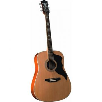 Superb New Eko Ranger 6 Vintage Re-issue Dreadnought Acoustic Guitar Zero Fret