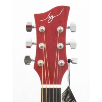 New Jay Turser Model JJ45PAKRSB Red Sunburst Acoustic Guitar Beginner Pack