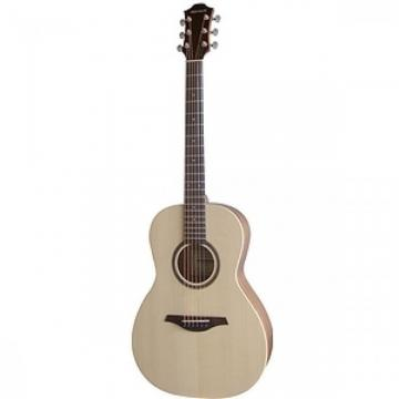 Great Brand New Hohner Elspplus Essential Plus Parlor Acoustic Guitar Natural
