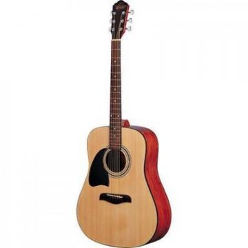 Oscar Schmidt Model OG2NLH Dreadnought Left-Handed Acoustic Guitar