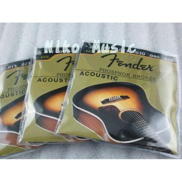 New 60L Phosphor Bronze Acoustic Guitar Strings