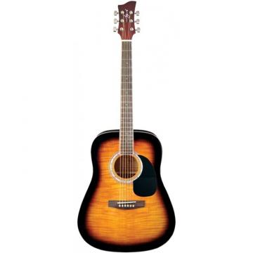 Jay Turser JJ-45F Series Acoustic Guitar Tobacco Sunburst