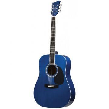 Jay Turser JJ-45 Series Acoustic Guitar Trans Blue
