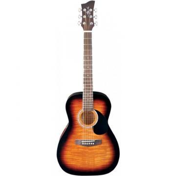 Jay Turser JJ-43F Series 3/4 Size Acoustic Guitar Tobacco Sunburst