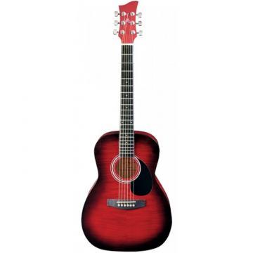 Jay Turser JJ-43F Series 3/4 Size Acoustic Guitar Red Sunburst