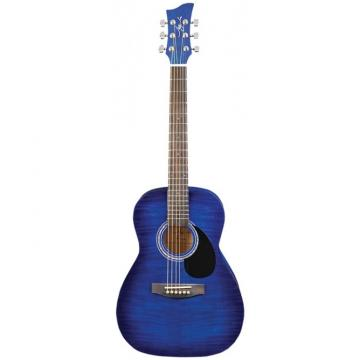 Jay Turser JJ-43F Series 3/4 Size Acoustic Guitar Blue Sunburst