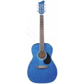Jay Turser JJ-43 Series 3/4 Size Acoustic Guitar Trans Blue