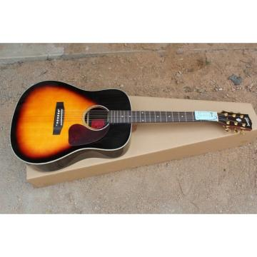 J-45 Rosewood Vintage Sunburst Acoustic Guitar Sitka Solid Spruce Top With Ox Bone Nut & Saddler