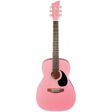 Jay Turser JJ-43 Series 3/4 Size Acoustic Guitar Pink