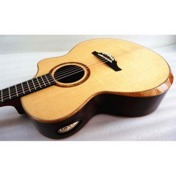 In Stock - Master level Sandwich Double Top Acoustic Guitar Model Artist A Free Fiberglass Case