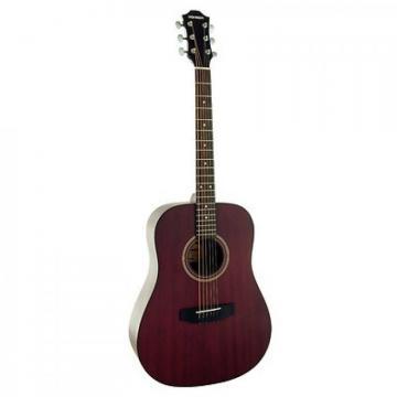 Hohner Model HW300G-TWR Mahogany Dreadnought Acoustic Guitar