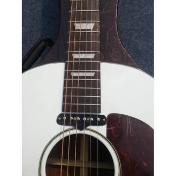 Custom Shop White John Lennon Acoustic Electric Guitar