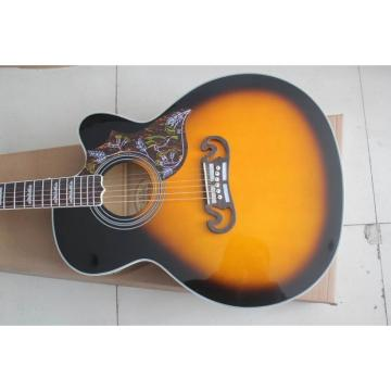 Custom Shop SJ200 Sunburst Acoustic Guitar