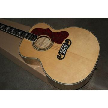 Custom Shop SJ200 Flame Maple Back Acoustic Electric Guitar Fishman EQ