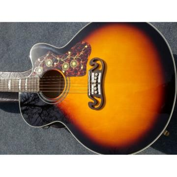Custom Shop SJ200 Sunburst Vintage Acoustic Guitar