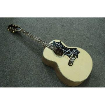 Custom Shop SJ200 Elvis Presley Natural Acoustic Guitar