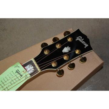 Custom Shop SJ200 Sunburst Acoustic Guitar Left Handed