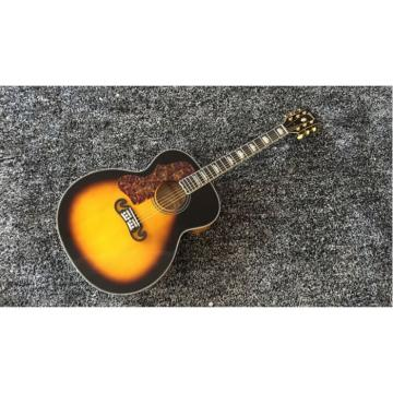 Custom Shop SJ200 Sunburst Acoustic Guitar Left Handed