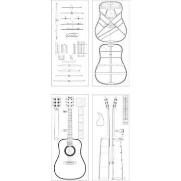 Custom Shop Project Press D28 Natural Acoustic Guitar Fishman EQ