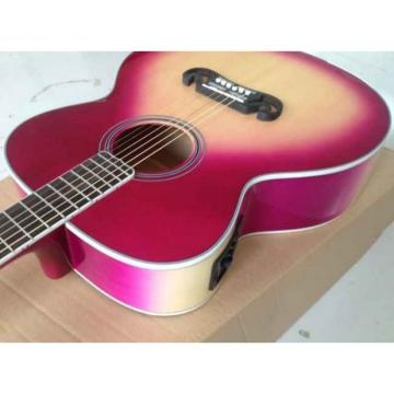 Custom Shop Pro SJ200 Purple Burst Acoustic Guitar
