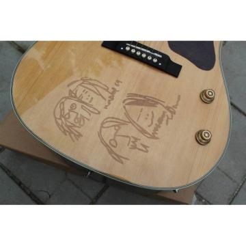 Custom Shop Natural John Lennon J160E Acoustic Guitar