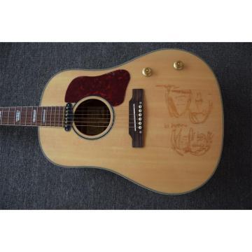 Custom Shop John Lennon  J160e Natural Acoustic Guitar