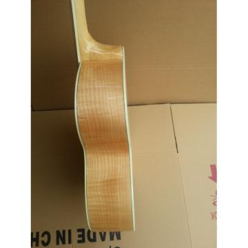 Custom Shop Johnny Williams Natural Maple Color Acoustic Guitar