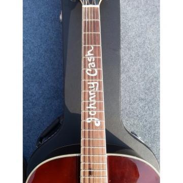 Custom Shop Johnny Cash Tobacco Color Acoustic Guitar