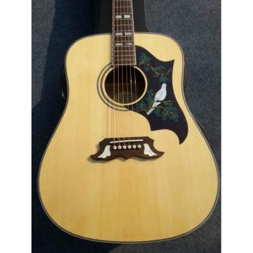 Custom Shop Dove Pro Natural Acoustic Guitar
